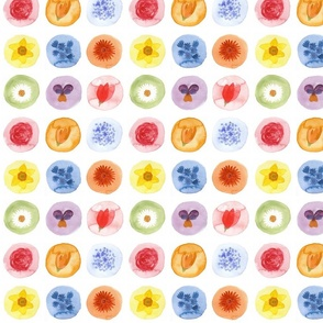 Flowery Polka dots