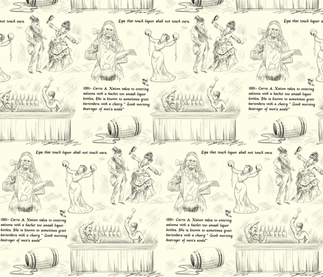 Temperance Toile fabric by sugarpinedesign on Spoonflower - custom fabric