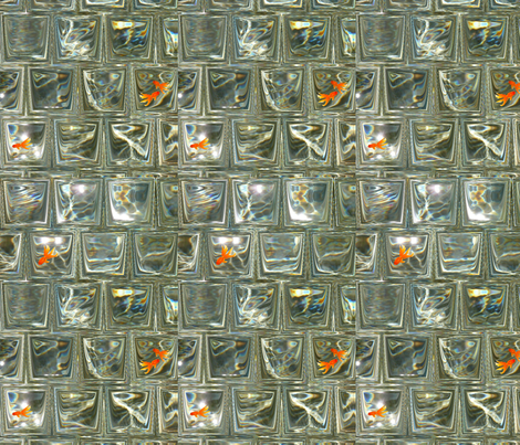 fdf1-C__15X22 WATER WINDOWS WITH FISH fabric by jackdon on Spoonflower - custom fabric
