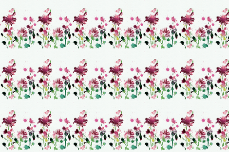 cestlaviv_POPPIES_40 BOLD fabric by cest_la_viv on Spoonflower - custom fabric
