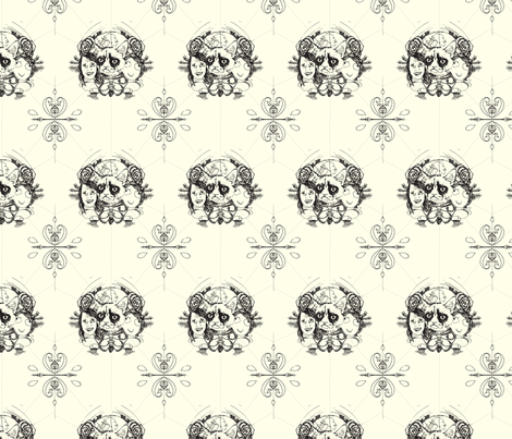 Meme leaders fabric by little_emmerton on Spoonflower - custom fabric