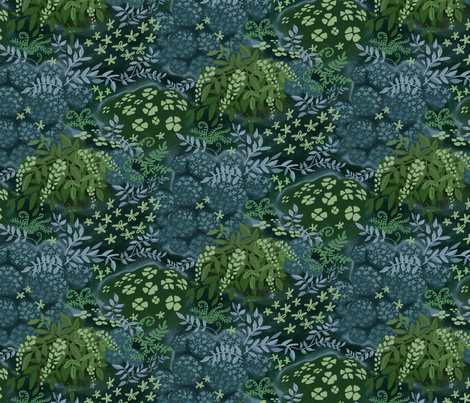 Fairy Tale Woodland fabric by vinpauld on Spoonflower - custom fabric