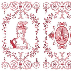 Marie-Antoinette Monogram (Strawberry)