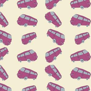 Pink VW Campervan (Pinky)