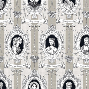 Toile de Jouy - Science Women