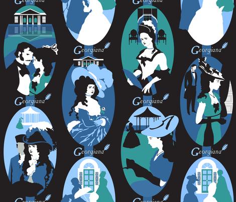 Georgiana fabric by paula's_designs on Spoonflower - custom fabric