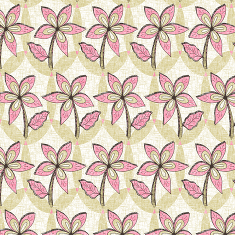 Floral Melody - Pastel Pink Spring Blooms
