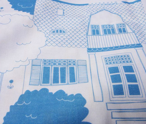 Architectural Tribute Toile