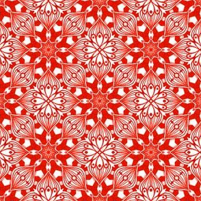 Kaleidoscopic Onion - Red