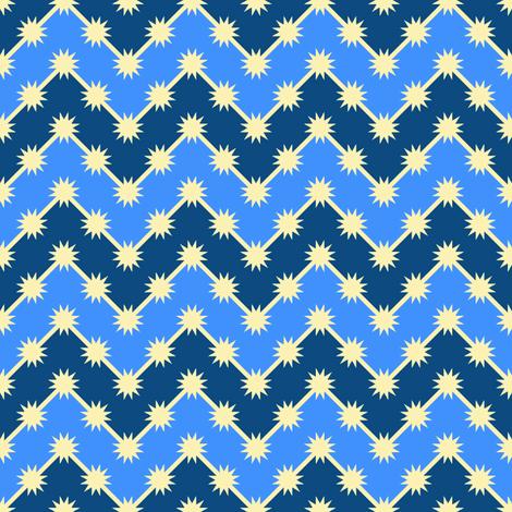 starry bedtime zigzag