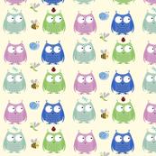 Owl Friends - blues