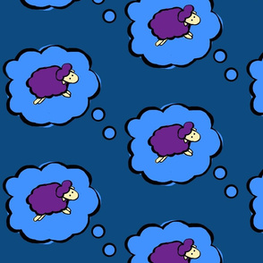Countless Purple Sheep