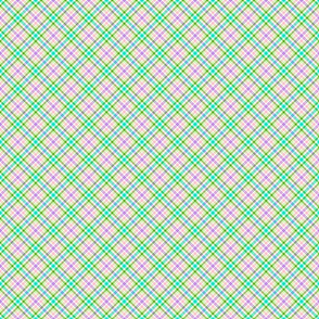 Bright Pastles Plaid- small
