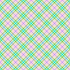 Bright Pastels Plaid- large