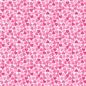 Pink Seamless Hearts