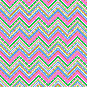 Spring Stripe Chevron- large