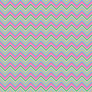 Spring Stripe Chevron- small