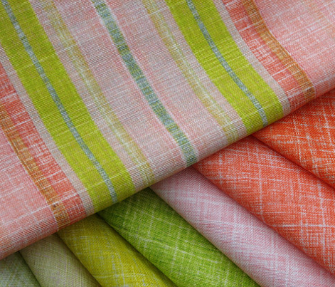 Linen Fruit Stripe