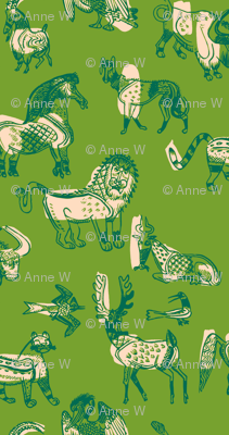 animal kingdom in green