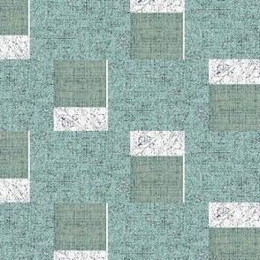 GeoBloc - blue, slate, white