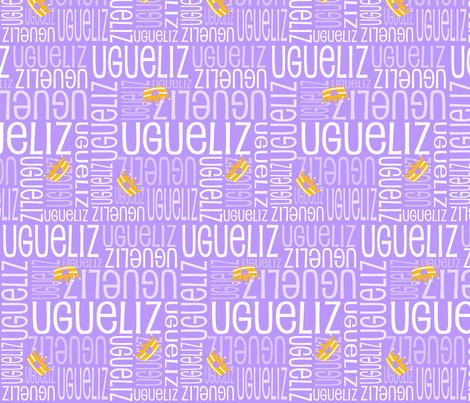 Personalised Name Design - Crowns in Purple