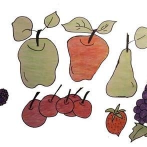 Fruity Fruit Fabric
