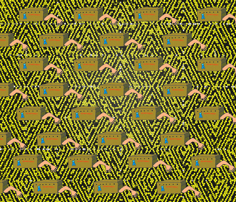 Howe_Oscar fabric by howemad on Spoonflower - custom fabric