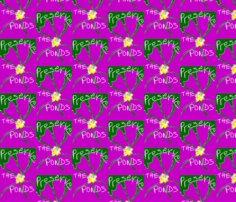 Preserve The Ponds fabric by menny on Spoonflower - custom fabric