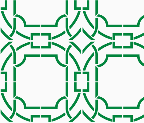 Bamboo Trellis Revised-Green