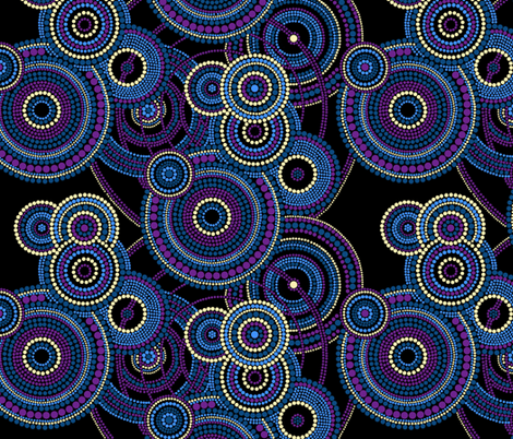 Dreamtime - Bedtime fabric by elramsay on Spoonflower - custom fabric