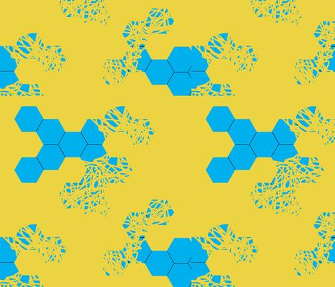 molocule fabric by wingdings on Spoonflower - custom fabric