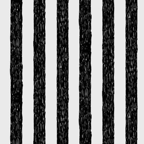 Burton's Vertical Stripes - lt gray