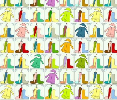 galoshes fabric by punktin on Spoonflower - custom fabric