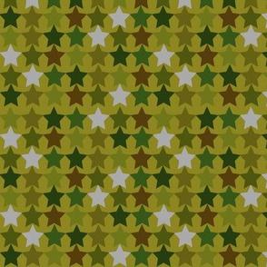 camouflage stars