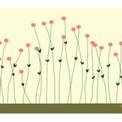 CJC Linen Pink Blossom Placemat