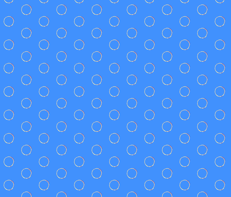 Soap bubbles fabric by miamaria on Spoonflower - custom fabric