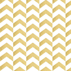 Bold Gold Broken Chevron