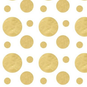 Bold Gold Bubbles