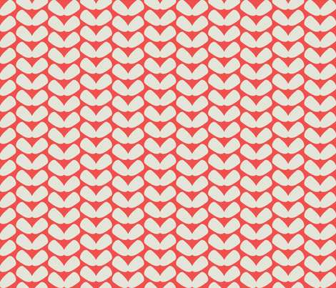 coral_knit fabric by holli_zollinger on Spoonflower - custom fabric