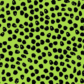 Ink Spots - Lime/Black by Andrea Lauren