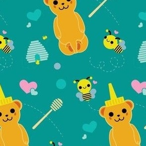 Honey Bear and Buzzy Bees