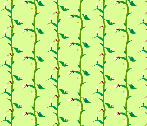 Best Buds fabric by kittypryde333 on Spoonflower - custom fabric