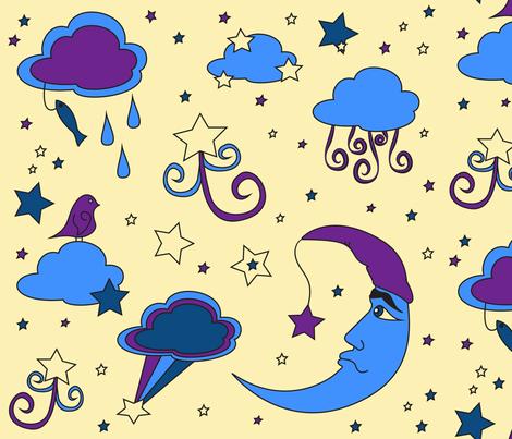 bedtime3 fabric by lerhyan on Spoonflower - custom fabric