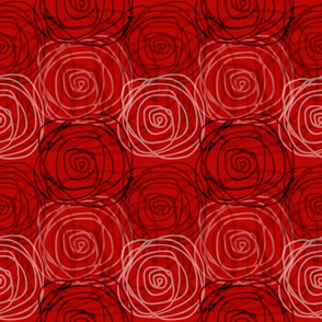 Autumn Bed of Roses Swirl