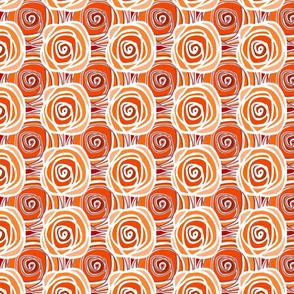 Autumn Bed of Roses Multi Swirl