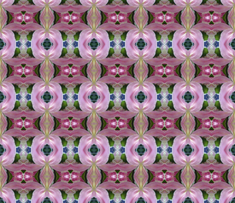 Ladies Room-remix fabric by susaninparis on Spoonflower - custom fabric