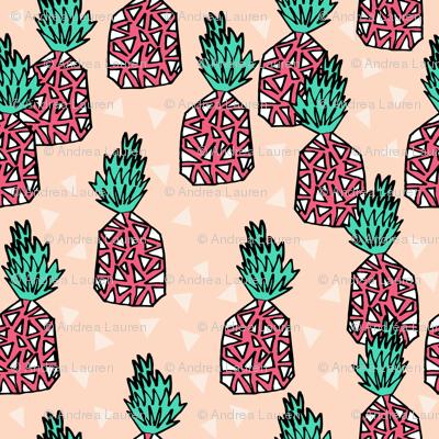 Pineapple - Blush/French Rose/Light Jade by Andrea Lauren