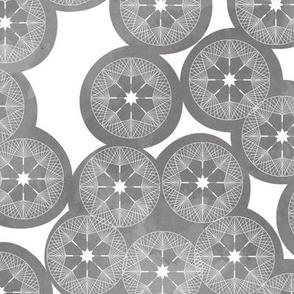 Dandelions Grey