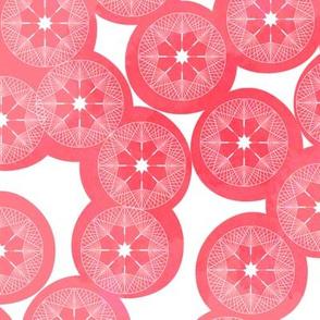 Dandelions Pink
