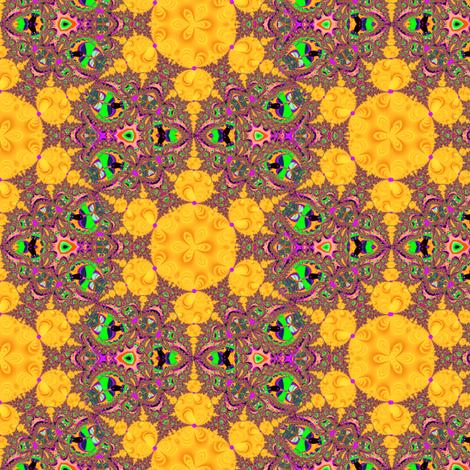 Golden tile Fractal